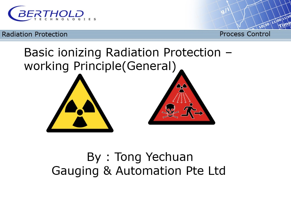 Radioactive training Singapore
